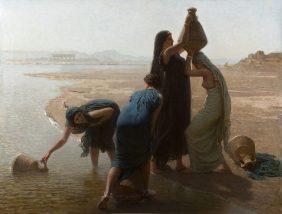 Fellaheen Women by the Nile