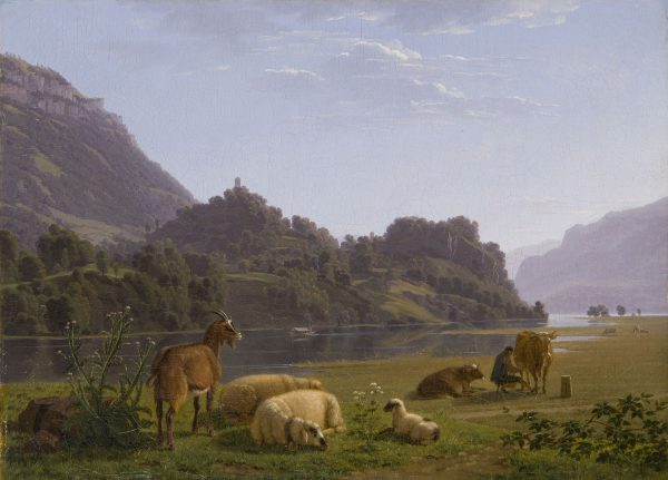 Biedermann, paysage animé