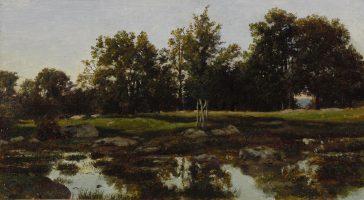 Paysage, Fontainebleau