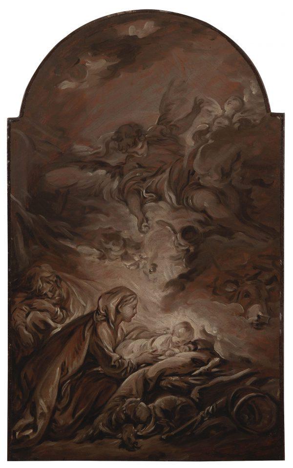 The Infant Christ Sleeping