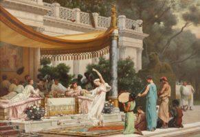 Gustave Boulanger, Repas d'été à la maison de Lucullus