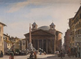 Vue du Panthéon, Rome