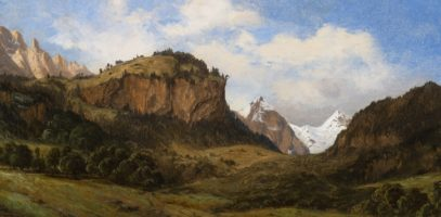 Alexandre Calame, Landscape in the Swiss Alps