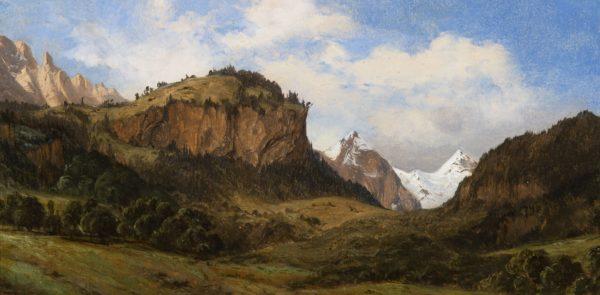 Alexandre Calame, Paysage alpestre suisse