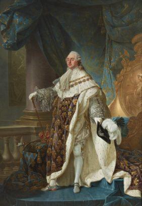 Antoine-François Callet, Ceremonial Portrait of Louis XVI