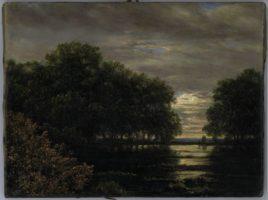 Carl Gustav Carus, Inondation dans la vallée Rosental