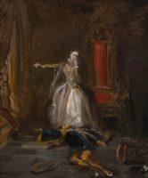 Chassériau Théodore, Mary Stuart swearing Revenge