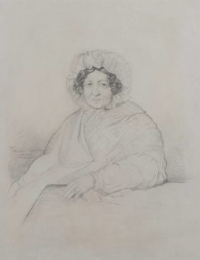 Chassériau, Portrait of Baronne Charles de Buus d'Hollebèke
