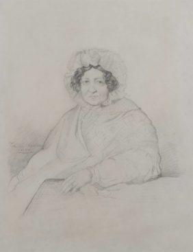Chassériau, Portrait de Madame de Buus Baronne d'Hollebèke 1837