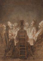 Daniel Chodowiecki, Family Gathering in Candlelight