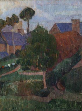 Gad Frederik Clement, Village in Brittany