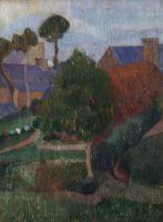 Gad Frederik Clement, Village en Bretagne