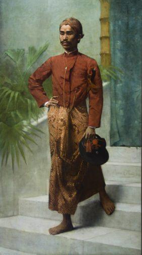 André Collin, Homme de Java en tenue d'apparat