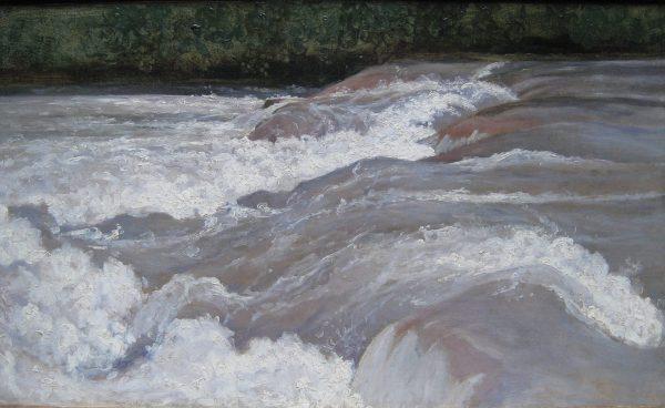 Le Vélino au dessus de la cascade de Terni