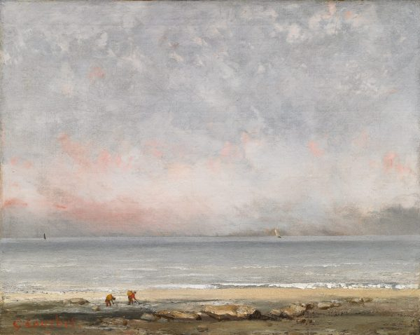 The Beach at Trouville