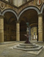 The courtyard of the Palazzo Vecchio, Florence