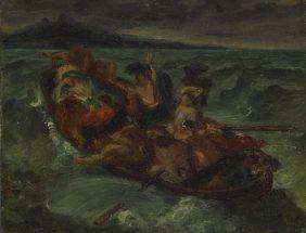 Le Christ sur le Lac de Tibériade