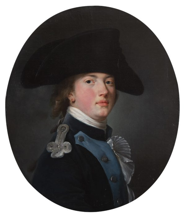 Nicolas Benjamin Delapierre, Portrait of a Young Russian Soldier