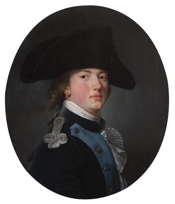 Nicolas Benjamin Delapierre, Portrait de jeune militaire russe