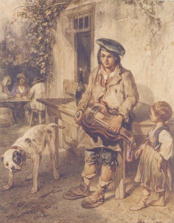 Le joueur de vielle