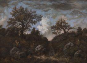 Chemin dans la forêt de Fontainebleau