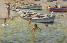 Bathing in the Mediterranean Sea