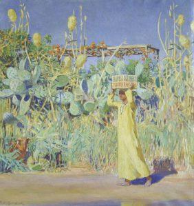La récolte des figues de barbarie, Egypte