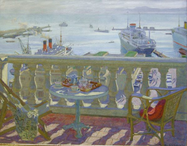 Terrace in Algiers