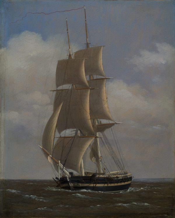 Brick de la marine danoise