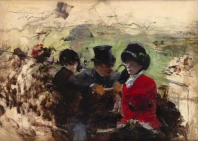 Jean-Louis Forain, At the Races