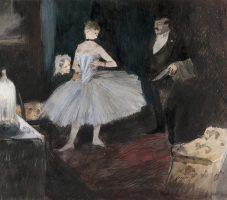 Visit in the Dancer's dressing room