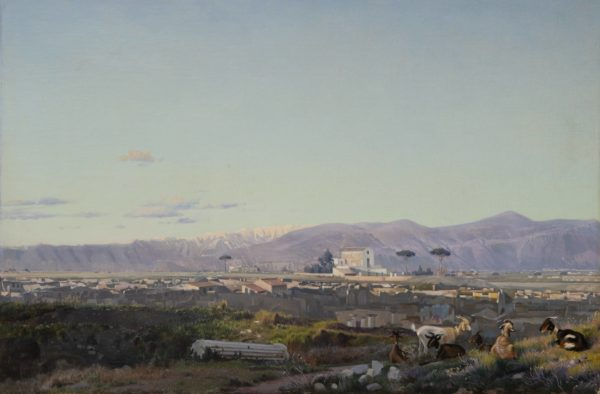 Nilaus Fristrup, View of the Ruins of Pompei