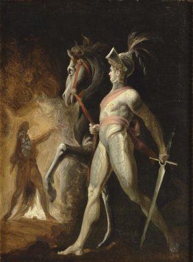 La rencontre de Huon de Bordeaux et de Scherasmin dans les grottes du Liban