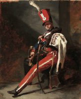 The Trumpeter of the Hussars of Orleans in Dress Uniform