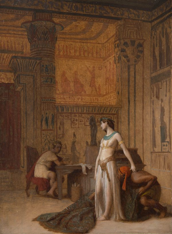 Cleopatra and Ceasar