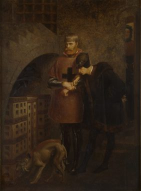 Louis XI visiting the Cardinal La Balue
