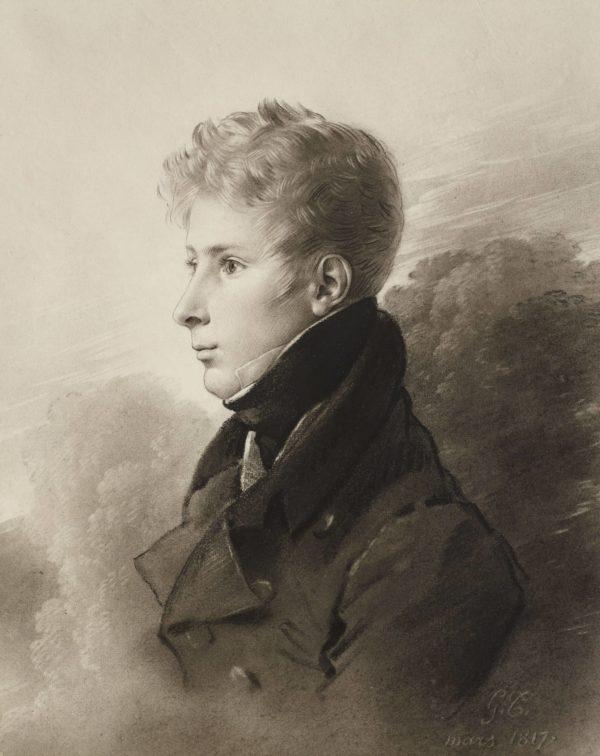 Girodet, Portrait du général Auguste Bertin de Vaux