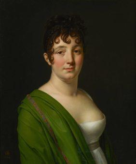 Anne-Louis Girodet, Portrait de M-F C Bocquet née Tricard
