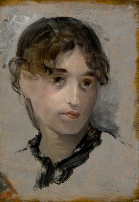 Self-portrait of Eva Gonzales