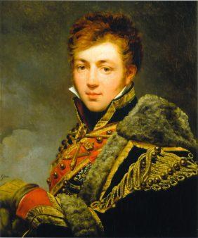Portrait du comte Honoré de La RiboisièrePortrait du comte Honoré de La Riboisière