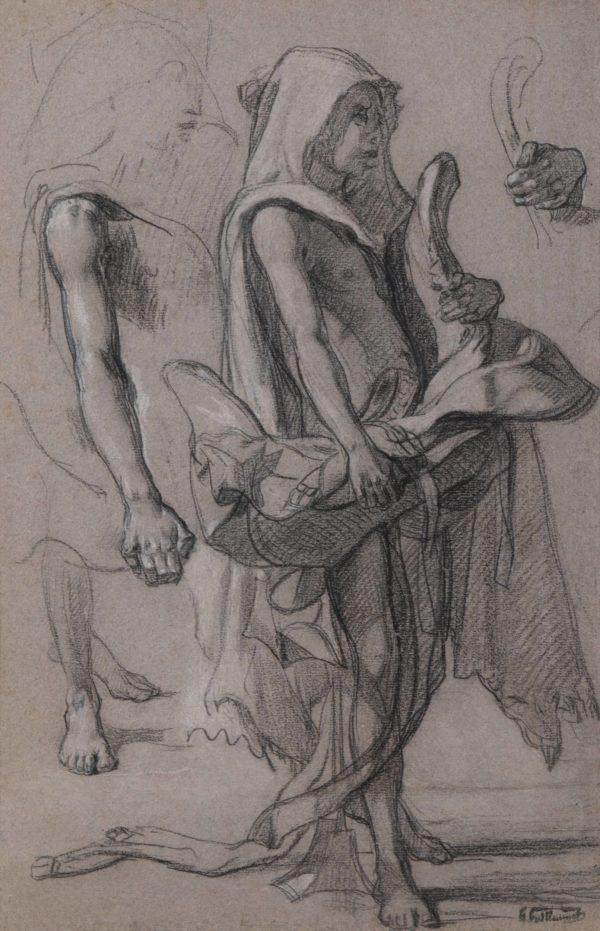 Gustave Guillaumet, Jeune bédouin