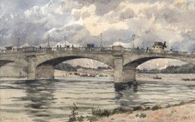 Henri-Joseph Harpignies, Le pont de La Concorde