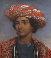Young Indian wearing a Turban
