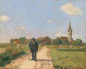 Le paysan sur la route