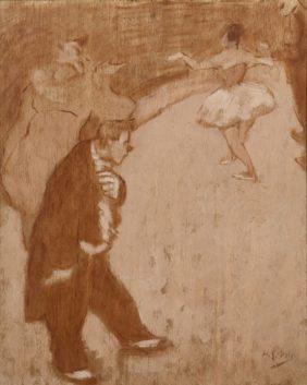 Henri-Gabriel Ibels, Le clown Monsieur Auguste au Cirque Fernando, Paris