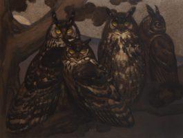 Family of Eagle-Owls