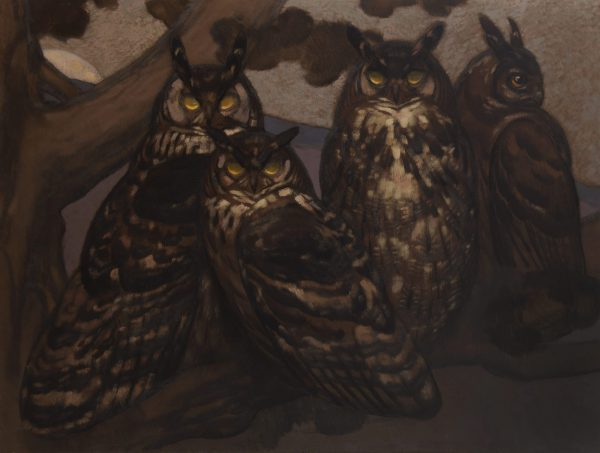 Family of Eagle-Owls