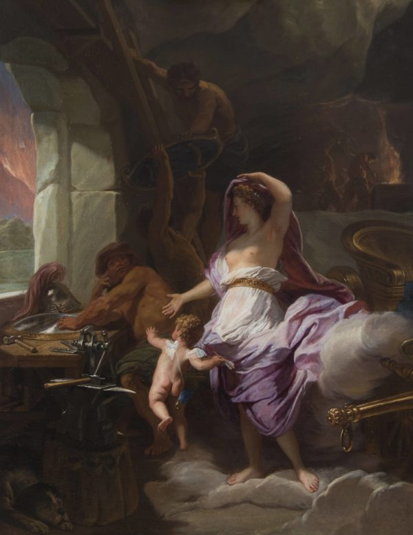 Jean Jouvenet, Venus visiting the Forge of Vulcan