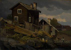Scierie, Norvège
