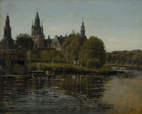 View of Frederiksborg castle